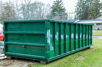 Picture of a residential dumpster
